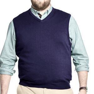 IZOD Big & Tall Mens Sweater Vest